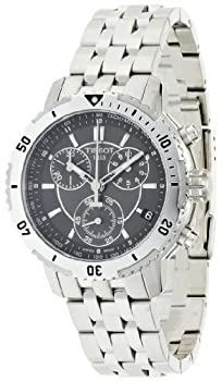 Tissot Men's T0674171105100 PRS 200 gray Chronograph Dial Watch from Tissot