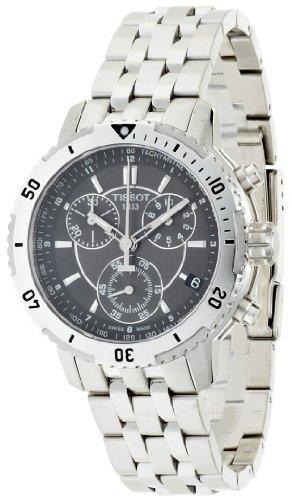 Tissot Men's PRS 200 Chrono Quartz Watch T0674171105100