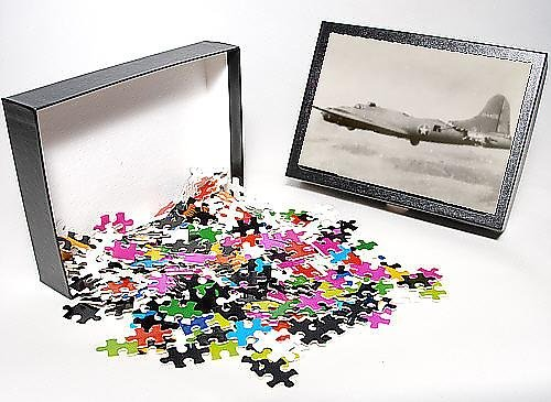 Photo Jigsaw Puzzle of Damaged Boeing B-17F Flying Fortress,