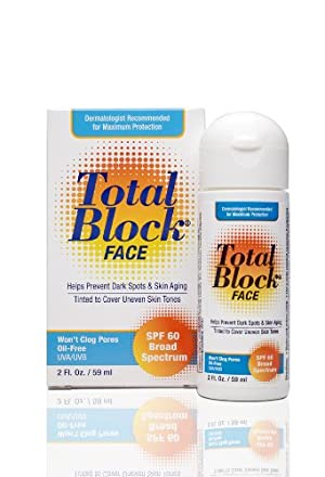 Fallene Total Block Face UVA/UVB Complete Broad Spectrum Sun Protection