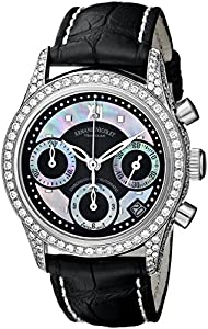 Armand Nicolet Women's 9154V-NN-P915NR8 M03 Classic Automatic Stainless-Steel with Diamonds Watch
