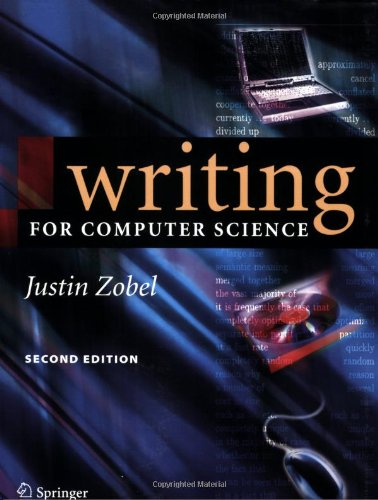 Writing for Computer Science 1852338024 pdf