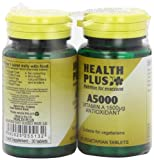 Health Plus A5000 Vitamin A Supplement - 2 X Packs Of 30 Tablets (60 Tablets)
