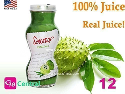 SOURSOP Guanabana Graviola REAL TASTE 100 Juice, 6 oz / 180 ml Pack of 12 (Soursop Juice compare prices)