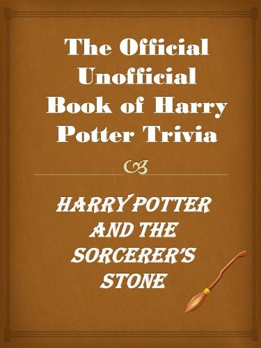 Stephen Drake Ono - The Official Unofficial Book of Harry Potter Trivia, Harry Potter and the Sorcerer's Stone. (The Best Harry Potter Trivia, Book 1) (English Edition)
