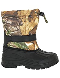INFANT BOY\'S REALTREE CINCH TOGGLE CLOSURE SNOW BOOT, CAMO, SIZE 10US