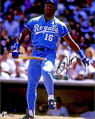 "Bo Jackson Kansas City Royals Autographed 16"" x 20"" Breaking Bat Photograph - Fanatics Authentic Certified"