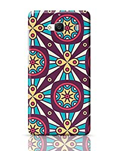 PosterGuy Redmi 2 Case Cover - Abstract Flower Ring | Designed by: Codeburnerz Technologies