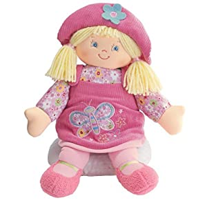 Gund Plush Kristen Doll Blonde 13 inches