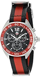 TAG Heuer Men's CAZ1112.FC8188 Formula 1 Red And Black Stainless Steel Watch