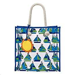 Cynthia Rowley for Target® Clear Tote Bag - Sailboat with Sun : Target from target.com