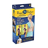 Royal Posture by BulbHead (L/XL) - The Amazing Back Support Belt that Aligns Your Spine, Posture Corrector Brace