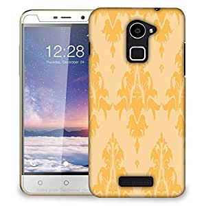Snoogg Cream String Pattern Designer Protective Phone Back Case Cover For Coolpad Note 3 Lite