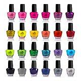 Pintura de Uñas SHANY Cosmetics The Cosmopolitan de secado rápido, set de 24 colores , 0.5 onzas cada bote