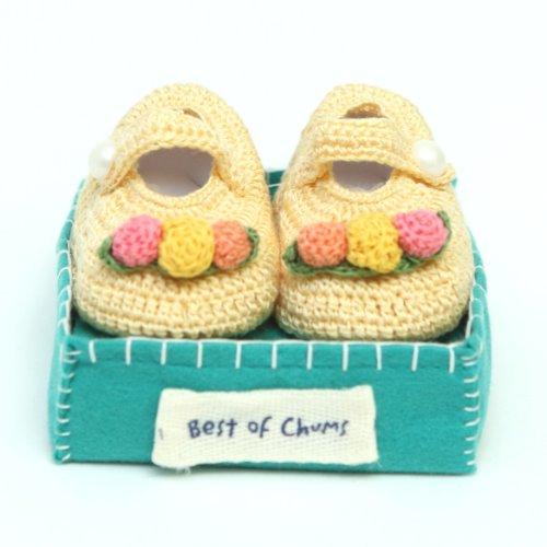 Best of Chums Baby Crochet Bootie Bouquet