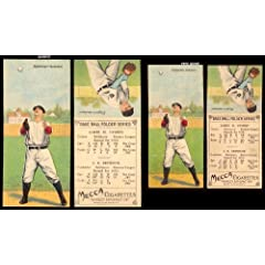 Buy 1911 T201 Mecca Double Folders (Baseball) Card# 26 James Dygert Cy Seymour of the Baltimore ExMt... by T201 Mecca