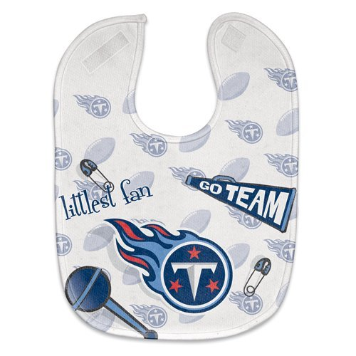 Tennessee Titans Baby Bib - Full Color Mesh