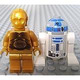 Lego Star Wars Mini fig.ure - C-3PO & R2-D2 (2 Pack)