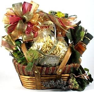 Beautiful italian theme gourmet gift basket housewarming gift