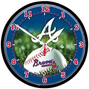 Atlanta Braves Wall Clock by WinCraft