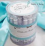Celebration Wedding Bubble Wand with Circle , Bulk (36 pieces)