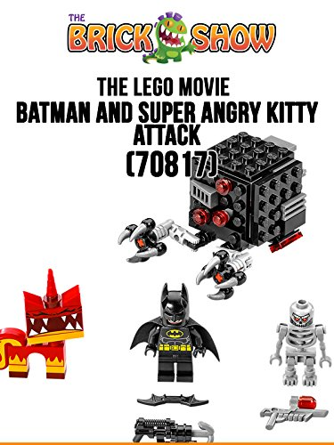 LEGO Movie Batman And Super Angry Kitty Attack Review (70817)