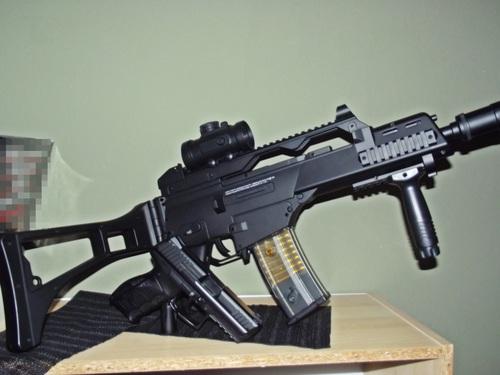 G36C Softair montiert