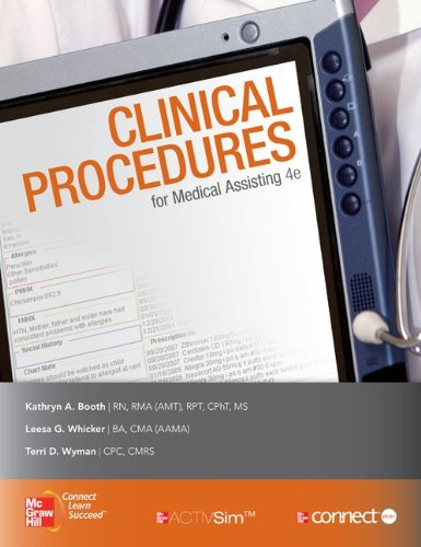 Medical Assisting: Clinical Procedures with Student CD
