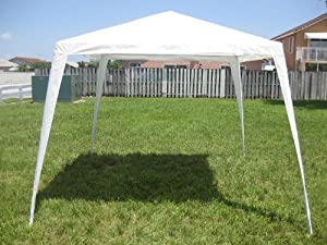10x10 gazebo canopy white patio lawn for 10x10 in square feet