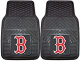 FANMATS MLB Boston Red Sox Vinyl Heavy Duty Vinyl Car Mat