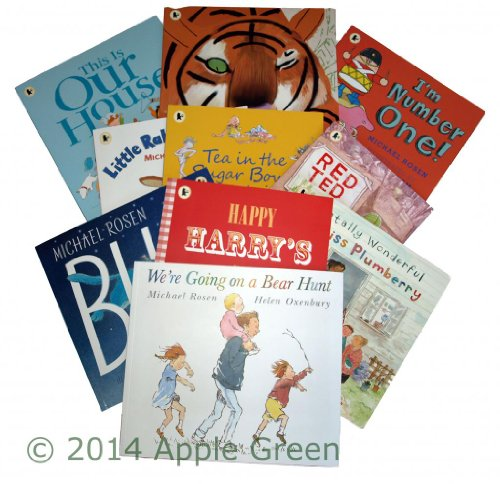 michael-rosen-10-books-little-rabbit-fee-this-is-our-house-were-going-on-a-bear-hunt-tea-in-the-suga