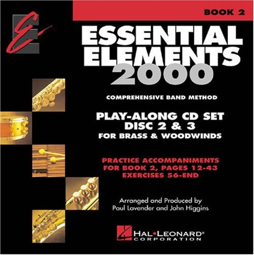 Essential Elements 2000 Comprehensive Band Method: Play-Along CD Set Disc 2 & 3 for Brass & Woodwinds PDF
