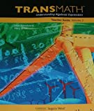 img - for TRANSMATH Understanding Algebraic Expressions Teacher Guide Vol 2 book / textbook / text book