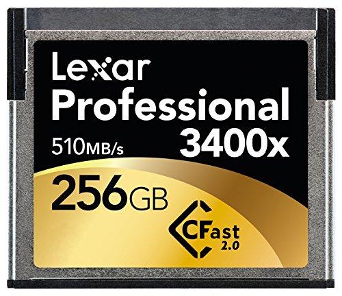 Lexar Professional 256GB 3400x Speed (510 MB/s) CFast 2.0 Memory Card Speicherkarte