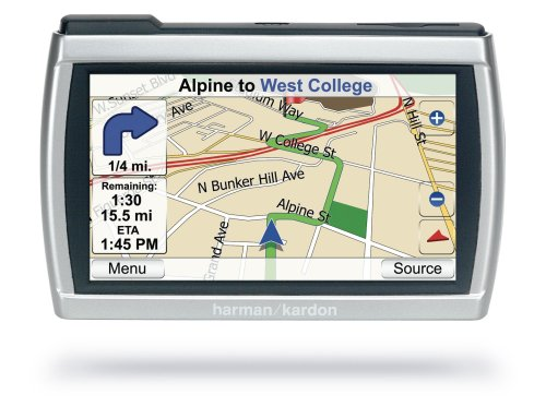 Harman Kardon GPS-500 Widescreen Portable GPS Navigator, MP3 Player, and Video Player