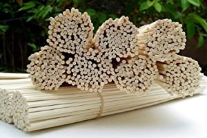 "100 Rattan Reed Diffuser Replacement Sticks 12"" x 3mm"