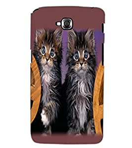 LG G PRO LITE CATS Back Cover by PRINTSWAG