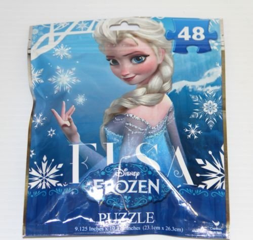 Disney Frozen Elsa 48 Piece Puzzle on the Go!!!