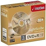 Imation DVD+R 16x 4.7GB LightScribe (5): 22384 (22384)