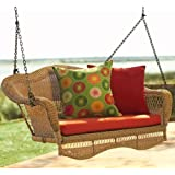 "Sahara Porch Swing, 20""H x 58""W, NATURAL"