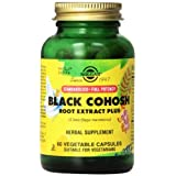 Solgar Standardized Full Potency Black Cohosh Root Extract Vegetable Capsules, 60 Count