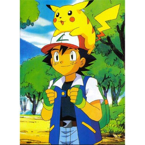 Pikachu-Poster-On-Silk-35cm-x-48cm-14inch-x-19inch-Cartel-de-Seda-834630
