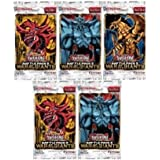 5 (Five) Pack Lot - Yu-Gi-Oh Cards Battle Pack 2: War Of The Giants Packs