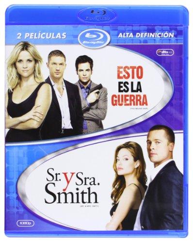 Pack: Esto Es La Guerra + Sr. Y Sra. Smith [Blu-ray]
