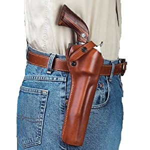 Buy Galco SAO Single Action Outdoorsman Holster for Long Barrels Ruger .44 SUPER Blackhawk 7 1 2-Inch by Galco Gunleather