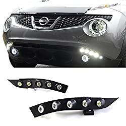 See iJDMTOY Exact Fit 10W High Power LED Daytime Running Lights DRL Kit For 2011-up Nissan Juke Details