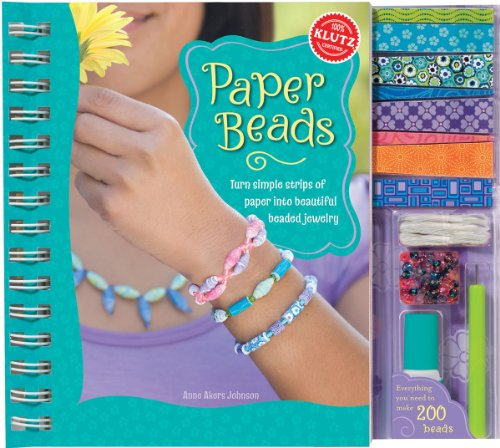 Paper Beads Book Kit-