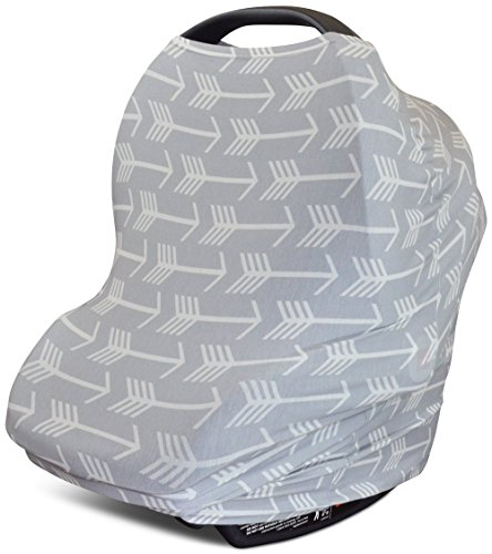 Buy Bargain Stretchy 4-in-1 Carseat Canopy | Nursing Cover | Shopping Cart Cover | Infinity Scarf- G...