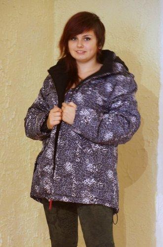 Warm wattierte Damen Jacke