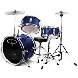 GP50 Junior Child Complete Drum Set - Metallic Midnite Blue (For 3 to 8 yrs)
